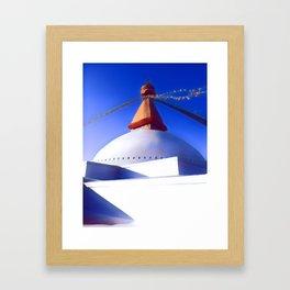 Boudhanath Stupa Framed Art Print