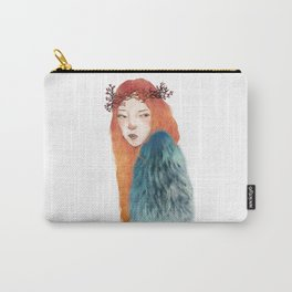 Berries Crown Girl Carry-All Pouch