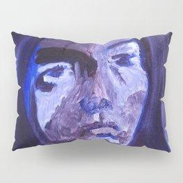 Introspective in Blue Pillow Sham