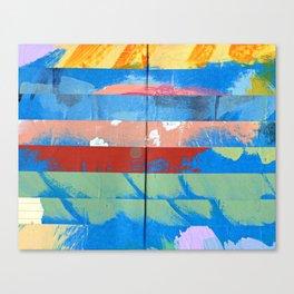 Tape Diary 11 Canvas Print