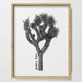 Joshua Tree Burns Canyon by CREYES Serving Tray