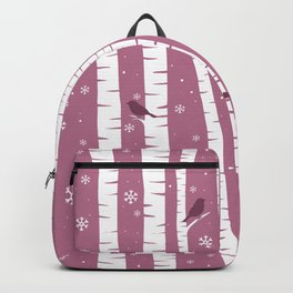 Birch Forest - Winter Idyll Backpack
