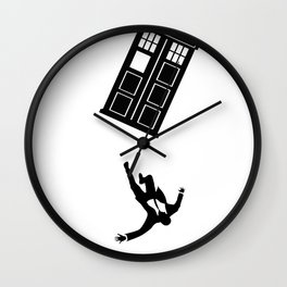 Doctor Who - Mad Men Wall Clock