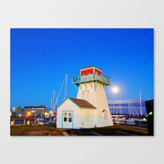 Summerside Harbour lighthouse Canvas Print