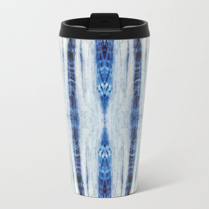 Nori Blue Metal Travel Mug