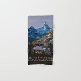 Mt. Assiniboine Provincial Park Hand & Bath Towel