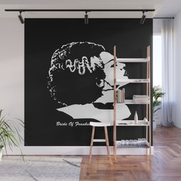 MAKE THIS OCTOBER AND HALLOWEEN A SCREAM WITH THE MONSTERS BRIDE Wall Mural