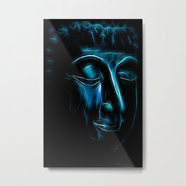 Buddha Face one Metal Print