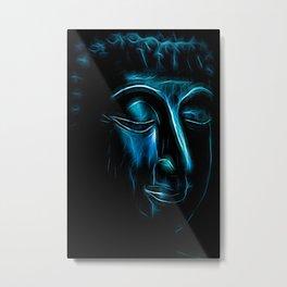 Buddha Face one Metal Print