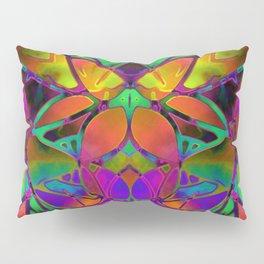 Floral Fractal Art G306 Pillow Sham