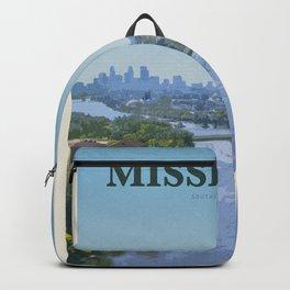 Visit Mississippi Backpack