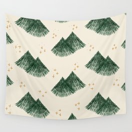 Whimsical Fir Tree Wall Tapestry