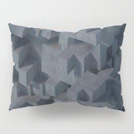 Concrete Abstract Pillow Sham