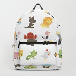 CUTE BABY ANIMAL PATTERN Backpack