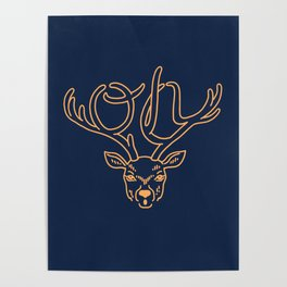 Oh Deer Poster