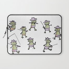 Lots of Finias Frogs Laptop Sleeve