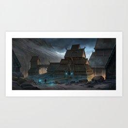 Stronghold Art Print