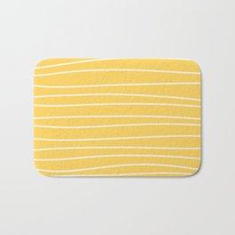 Sunshine Brush Lines Bath Mat