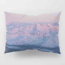 Perfect sunrise in South Tyrol - Landscape and Nature Photography Pillow Sham