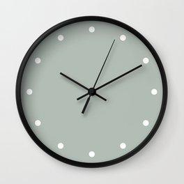 Dots Ash Wall Clock