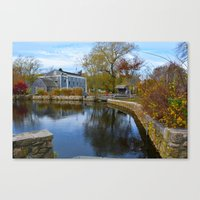 cape cod Canvas Prints featuring Cape Cod by Yleniuccia89