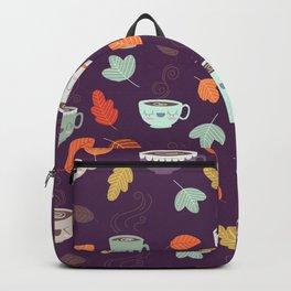 CUTE COFFEE (PURPLE) Backpack