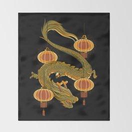 Dragon Fly Throw Blanket