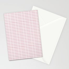 Pink Train Tracks Stationery Cards