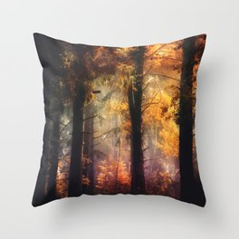 Glowing Dreams Throw Pillow