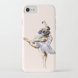 Pug Ballerina in Dog Ballet | Swan Lake  iPhone Case