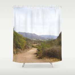 Wide Open Trail Shower Curtain
