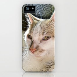 Lily Cat iPhone Case