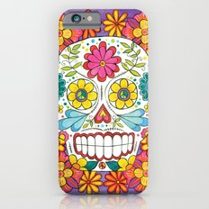Day of the Dead Sugar Skull Slim Case iPhone 6s
