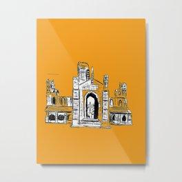 Kirkstall abbey Leeds ! Metal Print