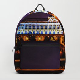 Grand Kremlin Palace At Winter Night Backpack