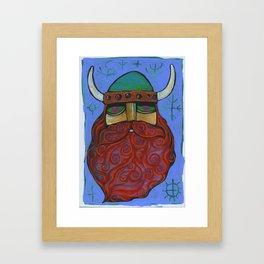 Viking Love Framed Art Print