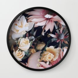 A Promised Rose Garden Wall Clock