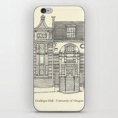 Gerlinger Hall iPhone & iPod Skin