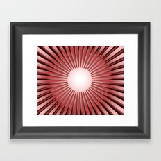 SHINING SUN Framed Art Print