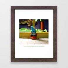 Coping Mechanisms: Two Framed Art Print