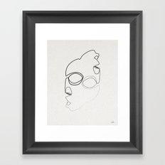 Ta'aroa Framed Art Print