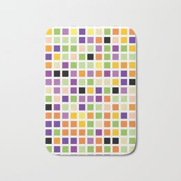 City Blocks - Eggplant #490 Bath Mat
