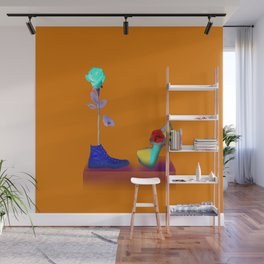 Proposal to May in May - Shoes stories Wall Mural