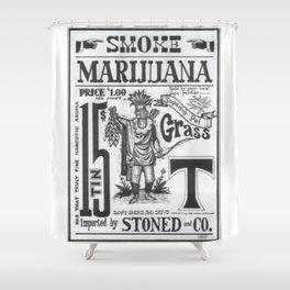 SMOKE MARIJUANA Shower Curtain