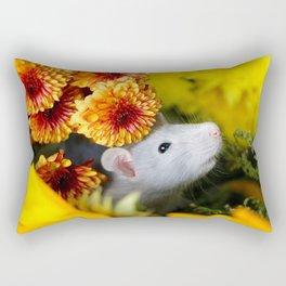 Adorable Autumn Princess Rectangular Pillow