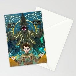 Newton Geiszler : Kaiju Groupie Stationery Cards