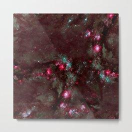 Nebula texture #45: Stary Night Metal Print