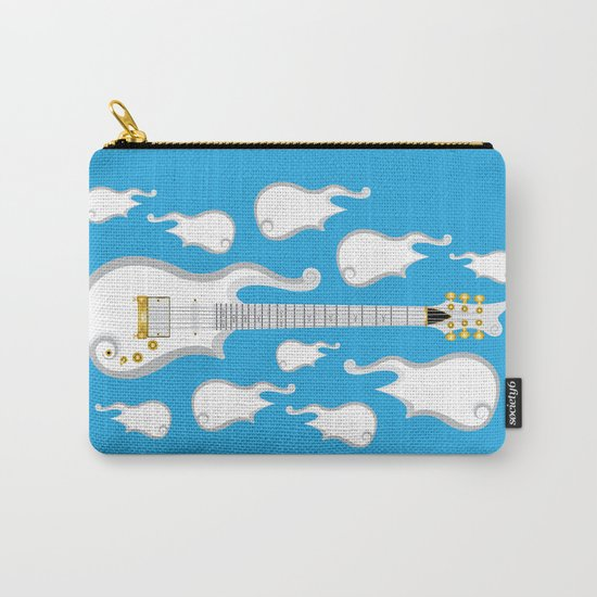 The Emoji-fication of His Purple Majesty: Cloud Guitar Carry-All Pouch