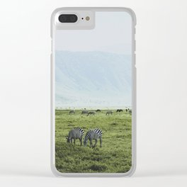 Ngorongoro Crater, Tanzania XI Clear iPhone Case