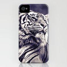 Sumartran Tiger in Two Tone Slim Case iPhone (4, 4s)